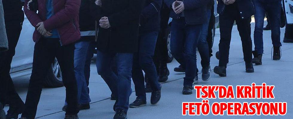 TSK'da kritik FETÖ operasyonu
