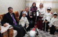 AYHAN YıLMAZ - Başkan Çetin Ve AK Parti Adayı Yılmaz Sünnet Olan Çocukları Ziyaret Etti