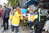 GÜMBET - Bodrum'da Kamyonet Hediyelik Eşya Dükkanına Daldı Açıklaması 1 Yaralı