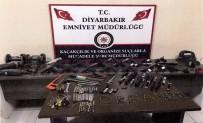 SİLAH KAÇAKÇILIĞI - Diyarbakır Polisinden Silah Kaçakçılarına Operasyon