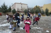 SEYRANTEPE - Diyarbakırlı Sporculara Kar Sürprizi