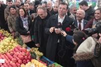 NUTUK - Ekrem İmamoğlu Tuzla'da Semt Pazarını Gezdi