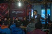KUŞADASI BELEDİYESİ - Gençler CHP Kuşadası Belediye Başkan Adayı Ömer Günel'i Seçim Bürosunda Ziyaret Etti