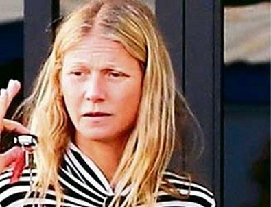 Gwyneth Paltrow makyajsız tanınmadı