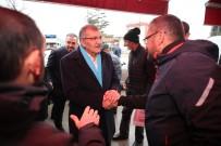 İSTANBUL BOĞAZI - Murat Aydın, Poyrazköy'ün Eşsiz Manzarası Karşısında Mest Oldu, Telefonuyla Canlı Yayın Yaptı