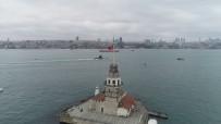 KIRMIZI IŞIK - (Özel) Türk Donanmasının Gururu 'TCG Sakarya'nın Bir Günlük Yolcuğunu İHA Görüntüledi