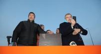 BEYKOZ BELEDİYESİ - Başkan Murat Aydın Balıkçı Teknesiyle Riva Deresine Açıldı