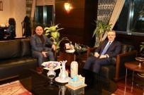 AFRİN - Belediye Başkanı Kara'dan Nacı Ağbal'a Ziyaret