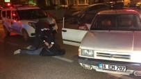 'Dur' İhtarına Uymayan 5 Şüpheli Kovalamaca Sonucu Yakalandı