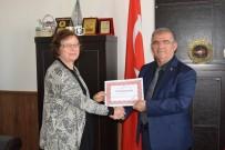 Kaymakam Çalık'tan Taviloğlu'na Teşekkür Belgesi