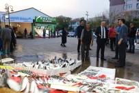 BALIKÇI ESNAFI - Kırıkkale'de Balıkçılar Çarşısı'na Yoğun İlgi
