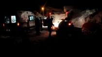 Mezradaki Hasta Kar Motoru Yardımıyla Hastaneye Ulaştırıldı
