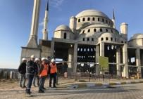Rektör Acer, 18 Mart İÇDAŞ Ulu Camii İnşaatında İncelemelerde Bulundu