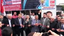 ABDURRAHMAN DEMIREL - AK Parti Hassa Seçim Bürosu Hizmete Açıldı