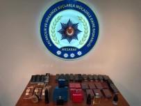 Aksaray'da Kaçak Parfüm Operasyonu