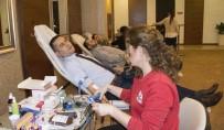 AOSB'den Kızılay'a Kan Bağışı