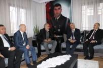 MEHMET ERSOY - Bakan Yardımcısı Şehit Ailelerini Unutmadı