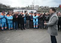 KUŞADASI BELEDİYESİ - CHP Kuşadası Belediye Başkan Adayı Günel Belediye İşçilerini Ziyaret Etti