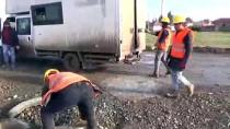 KANALİZASYON ÇALIŞMASI - Hırsızlar Rögar Kapaklarını Çaldı