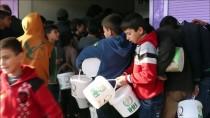 AFRİN - İHH'dan Afrin'de Her Gün 10 Bin Kişiye Yemek