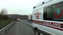 Anadolu Otoyolu'nda Otomobil Devrildi Açıklaması 3 Yaralı