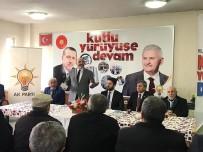 ARIF TEKE - Başkan Ali Çetinbaş Açıklaması Altıntaş'a Hizmetlerimiz Artarak Devam Edecek