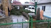 ÇÖMLEKÇI - Çanakkale'de Sağanak Ve Şiddetli Rüzgar