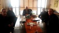 İhlas Grubu'ndan Üzümlü Belediye Başkanı Ahmet Sazlı'ya Ziyaret
