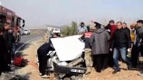 Şanlıurfa'da İki Otomobil Çarpıştı Açıklaması 11 Yaralı