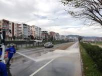 Trabzon'da Bir Yılda 82 Bin 500 Km Yol Süpürüldü
