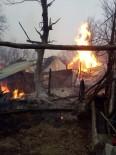 AHŞAP EV - Kastamonu'da Çıkan Yangında 14 Hayvan Telef Oldu