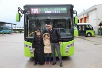 (Özel) Kendisi İçin Otobüsü Hastaneye Süren Halk Otobüsü Sürücüne Küçük Çocuktan Teşekkür