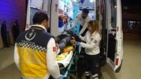 ALANYURT - Dikkatsiz Sürücü Dehşet Saçtı Açıklaması 1 Yaralı