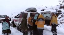 HAMİLE KADIN - Hamile Kadını Paletli Ambulansla Hastaneye Yetiştirdiler