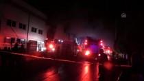 ULUKENT - İzmir'de Geri Dönüşüm Tesisinde Yangın