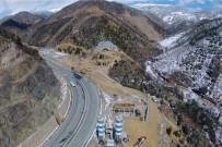 KAMURAN TAŞBILEK - Zigana Tüneli'nin İnşaatı Yarılandı