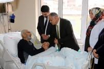 Başkan Öztürk'ten Hastane Ziyareti