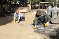 Burhaniye'de Okul Bahçelerine Yarıyıl Bakımı