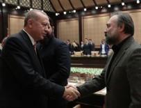TAMER KARADAĞLI - Cumhurbaşkanı Erdoğan sinemacıları Beştepe'de ağırladı