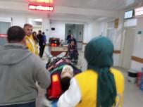 Dengesini Kaybedip Beton Zemine Düşen İnşaat İşçisi Yaralandı