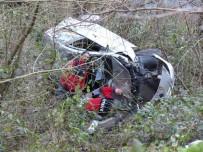 ÇAVUŞLU - Giresun'da Trafik Kazası Açıklaması 3 Yaralı