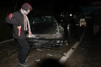 Kastamonu'da Kamyon İle Otomobil Çarpıştı Açıklaması 1 Yaralı