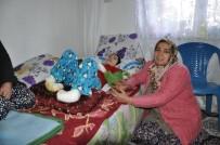 KARAOĞLAN - Yangın Mağduru Aileye Devlet Şefkati