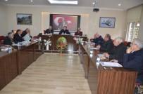 FAZLA MESAİ - Akseki Belediye Meclisi Toplandı