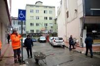 İŞ BANKASı - Alaplı Belediyesi Engelliler İçin Özel Park Yerleri Oluşturdu