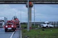 AĞIR YARALI - Antalya'da feci kaza
