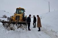 Arguvan'da Karla Mücadele Devam Ediyor