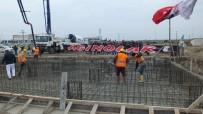 Burhaniye'de Şehir Stadyumunun Temeli Atıldı