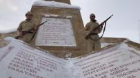 Kafkas Üniversitesi Öğrencilerinden 90 Bin Şehit İçin Saygı Nöbeti