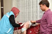 BURHANETTIN KOCAMAZ - Kelebek Hastası Kardeşlere Belediye Desteği
